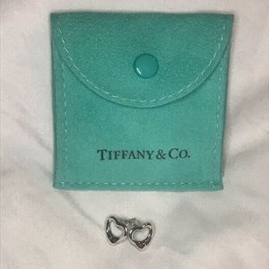 Tiffany open heart earrings